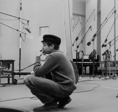"November 22, 1961: Bob Dylan: second recording session for.. ""Bob Dylan"""