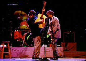 Rick Danko & Bob Dylan 1997